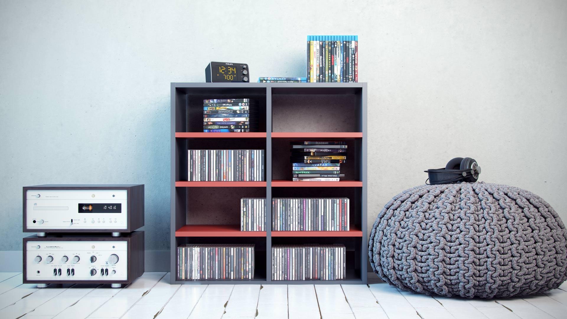 CD- und DVD-Regale selbst gestalten | Regale bei MYCS