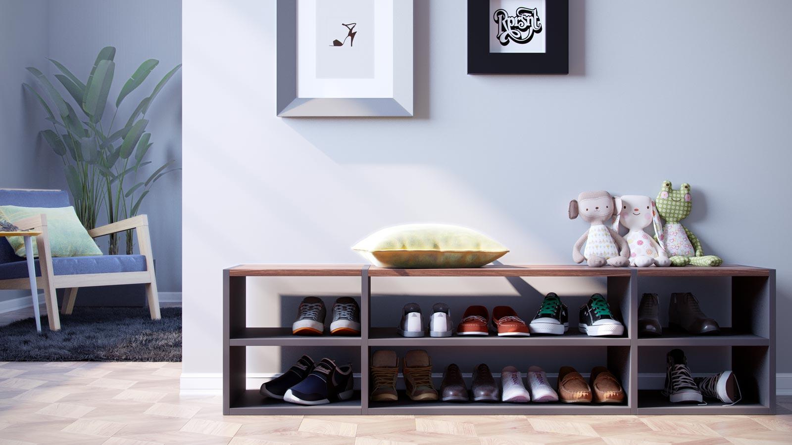 Schuhregal online designen | Schuhregale bei MYCS | MYCS ...