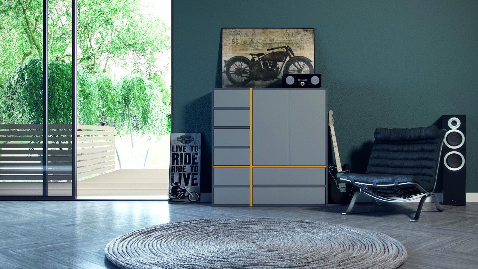 schubladenschr nke online gestalten schr nke bei mycs. Black Bedroom Furniture Sets. Home Design Ideas