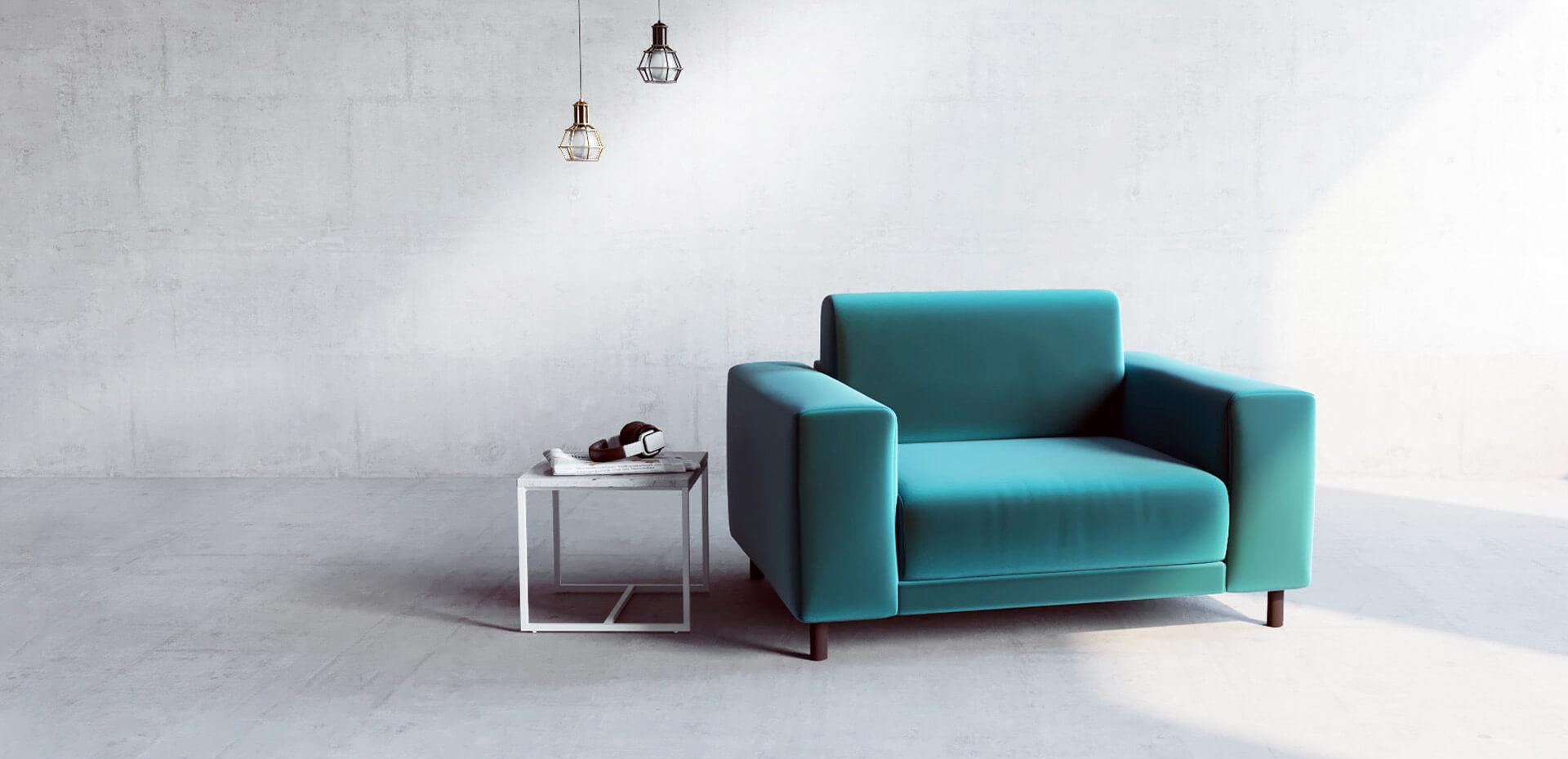 Sessel In Blau Online Designen Sessel Bei Mycs Mycs Deutschland