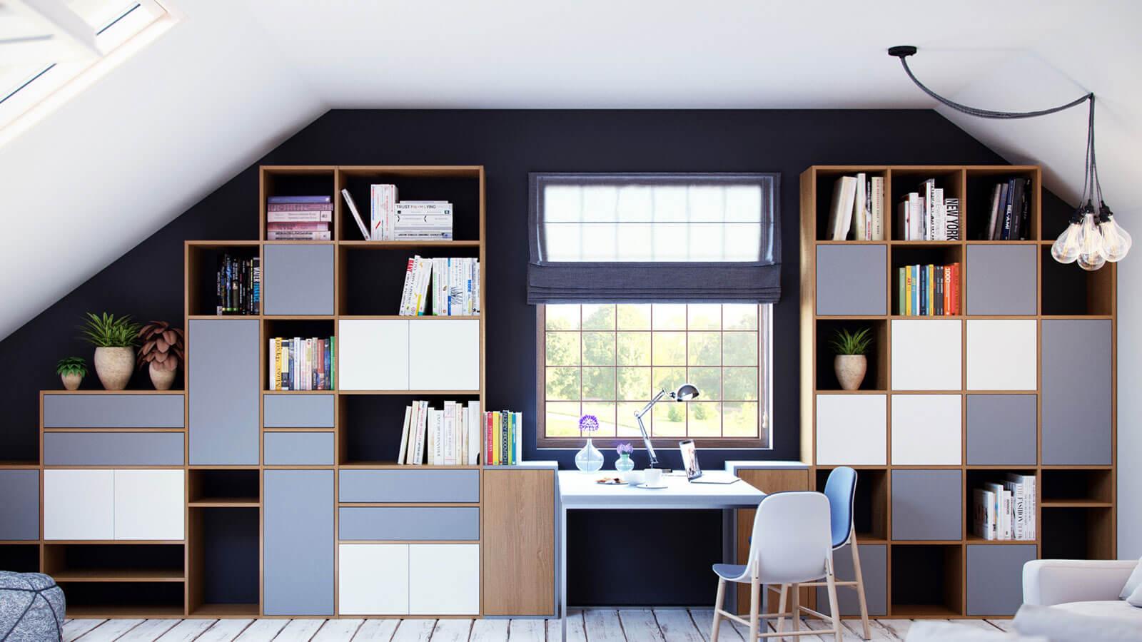 schrank f r dachschr ge selbst gestalten schr nke bei mycs. Black Bedroom Furniture Sets. Home Design Ideas