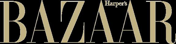 logo harpers bazaar gold