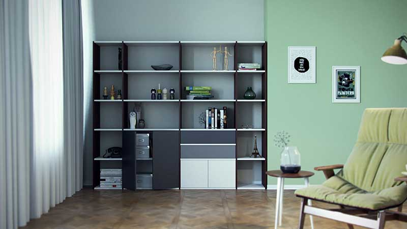 regal online konfigurieren regale bei mycs mycs deutschland. Black Bedroom Furniture Sets. Home Design Ideas