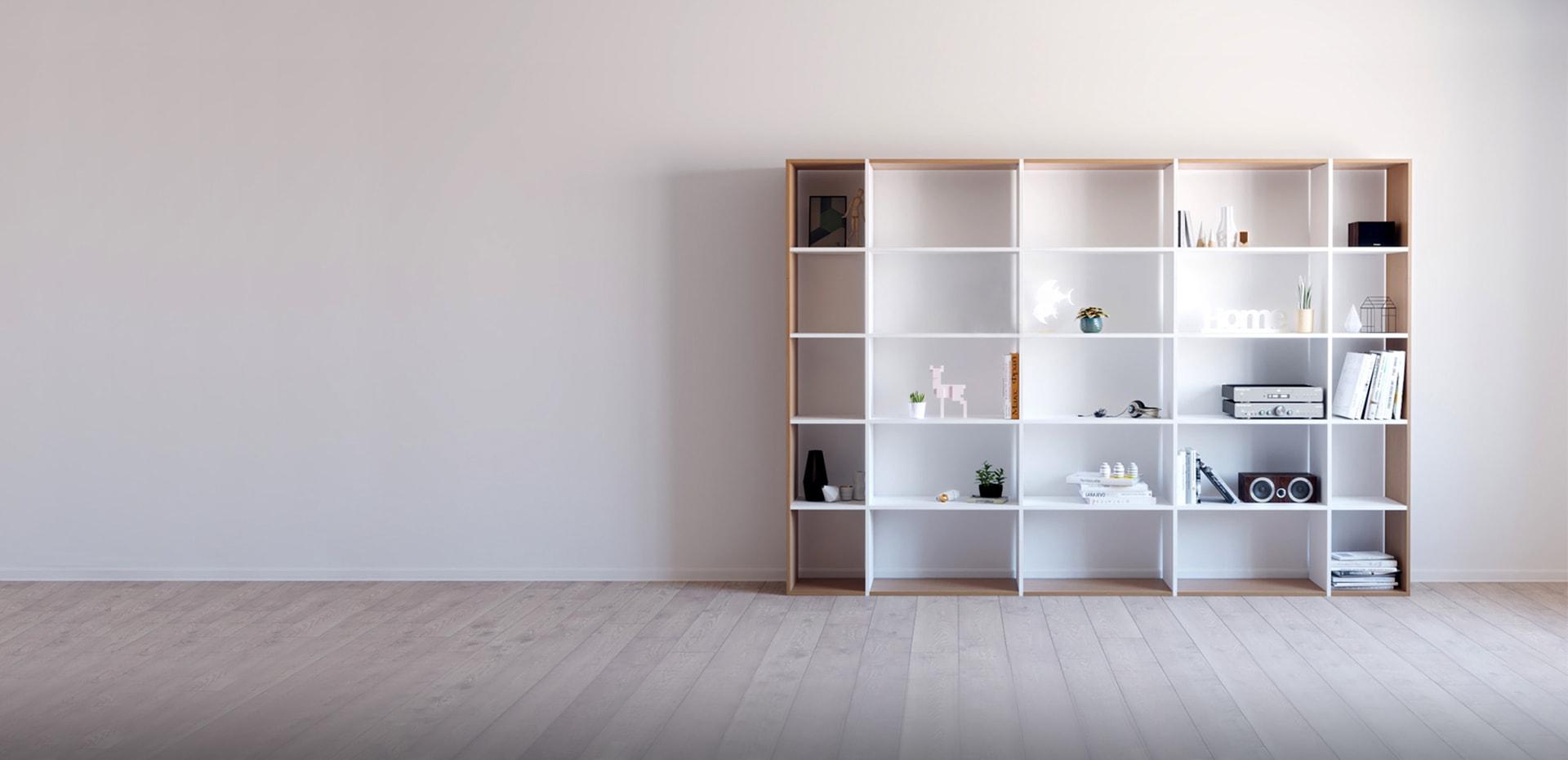 holzregale selbst gestalten regale bei mycs mycs deutschland. Black Bedroom Furniture Sets. Home Design Ideas